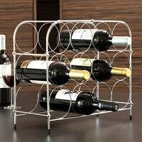 Cremalheira metálica do frasco do favo de mel (12 garrafas)|Bar e gabinete de vinho| |  -