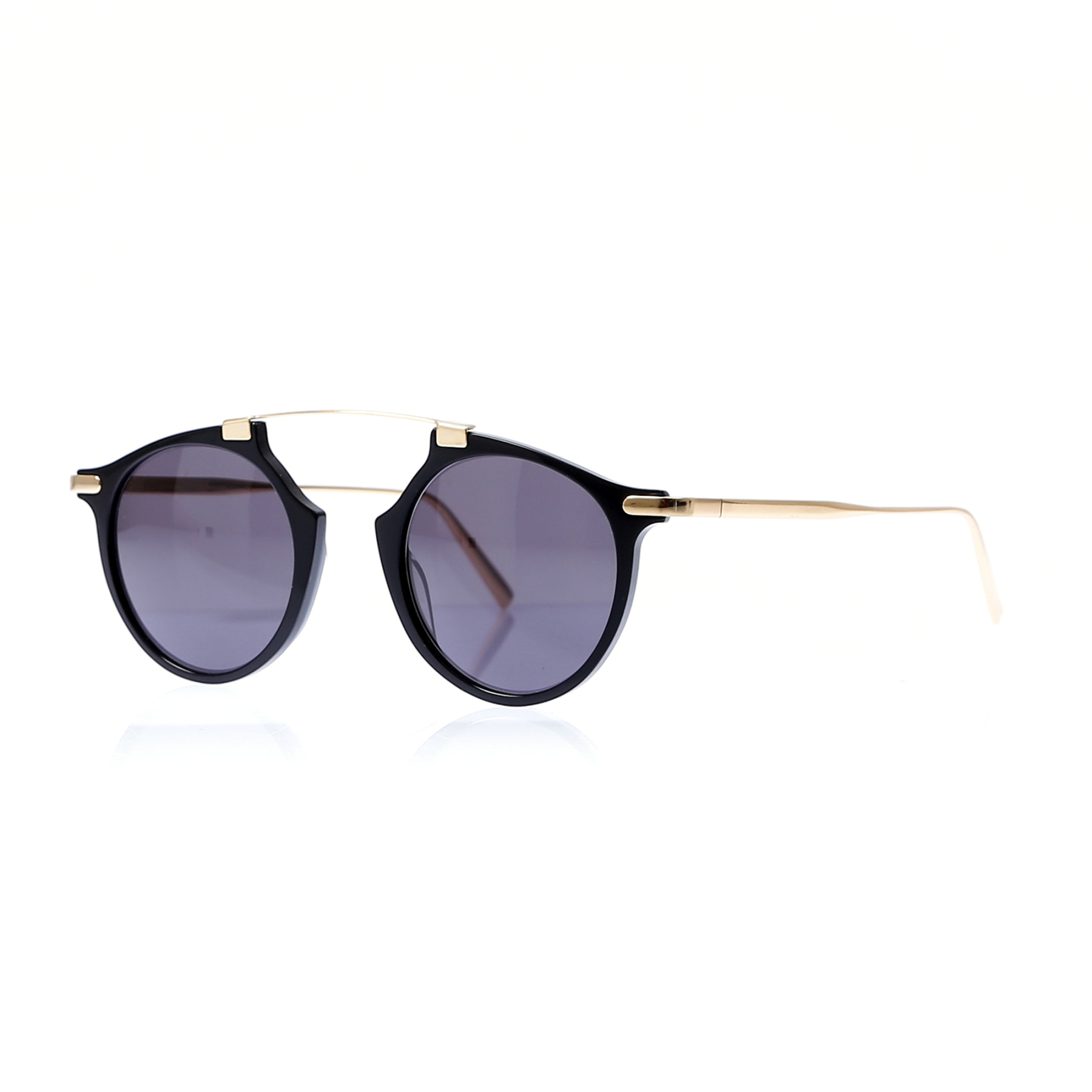Unisex sunglasses msd 9009 b1 bone black organic 48 -- massada