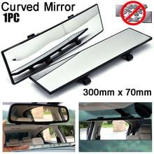 1Pcs 300mm Gebogene Rückspiegel Universal Weitwinkel Rückspiegel Auto Innen Spiegel Rückspiegel