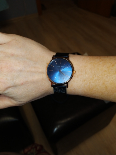 Women's Mesh Steel Watch photo review