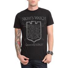 Лидер продаж Мужская модная футболка с принтом надписью ночных