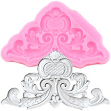 Gumpaste Moulds Flower Cake-Decorating-Tools Cupcake Chocolate Candy Clay Relief-Border
