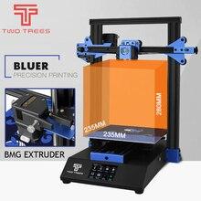 3D drukarki Bluer pełna metalowa rama wysokiej precyzji Diy zestaw szkła platformy wsparcie automatycznego poziomowania wznowić druku Filament bijout Dete