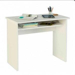 Desk with shelf sets various colors.