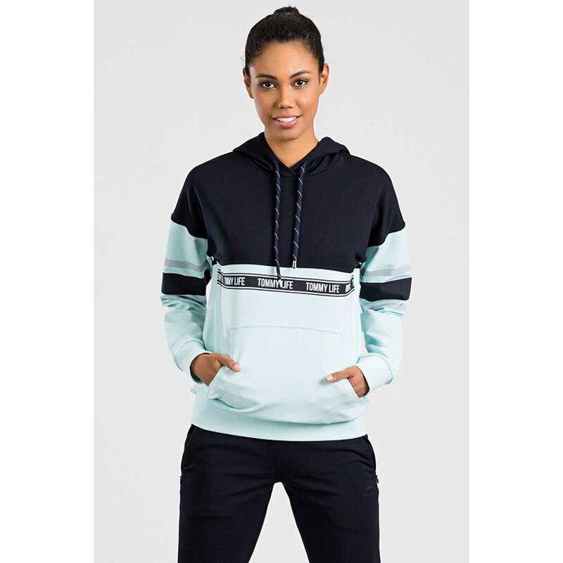 conjuntos de pijamas feminino com capuz linha