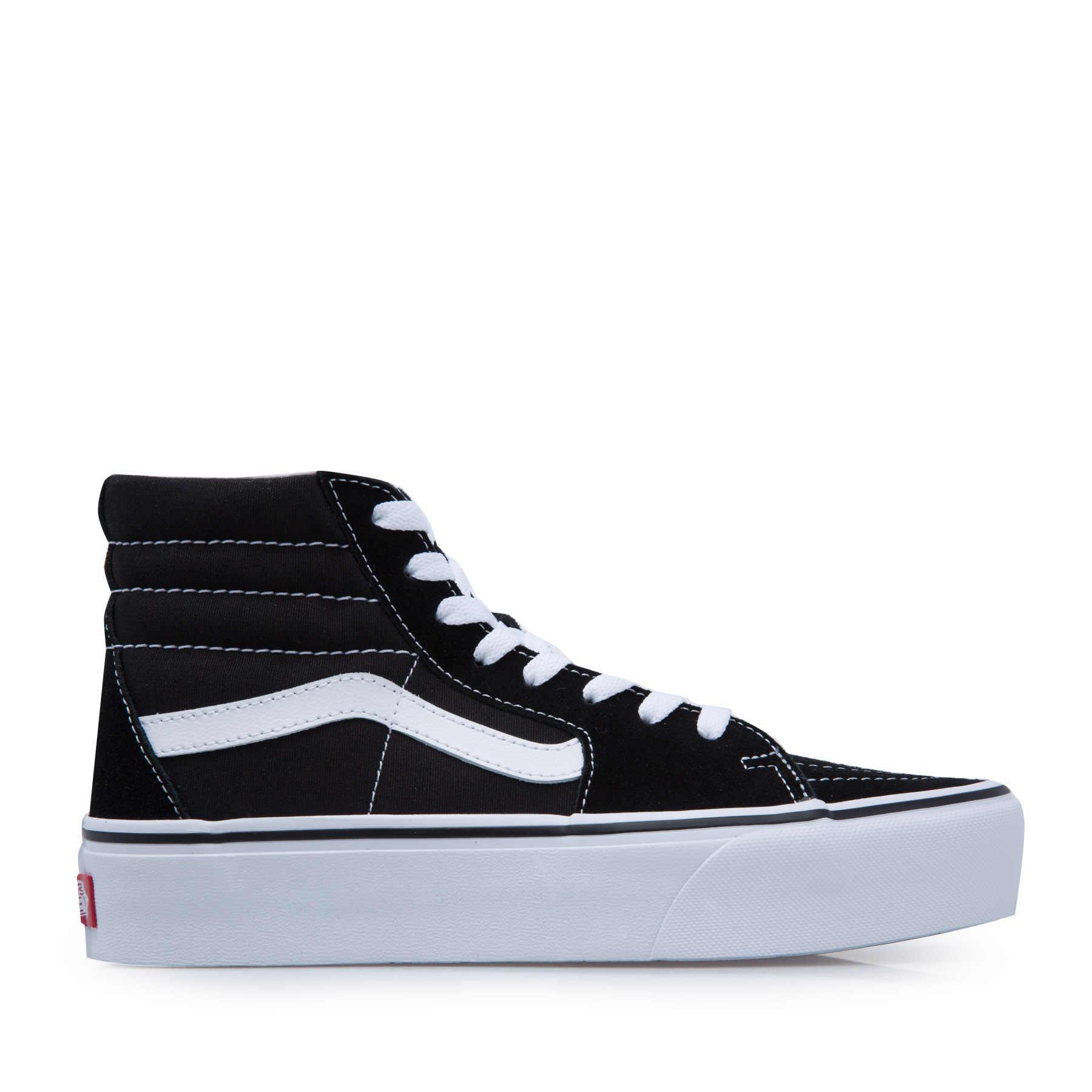 vans noir chaussure femme