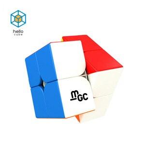 Yongjun MGC V2 2x2x2 Магнитный Волшебный куб головоломка MagneticMGC Elite 3x3 Cubo Magico Игрушки для мальчиков