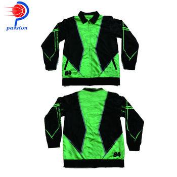 Czarne zielone pomarańczowe zielone kurtki wyścigowe dla zespołów wyścigowych tanie i dobre opinie Spailkrete WOMEN CN (pochodzenie) Szybkie suche Pasuje prawda na wymiar weź swój normalny rozmiar Sublimation Customize