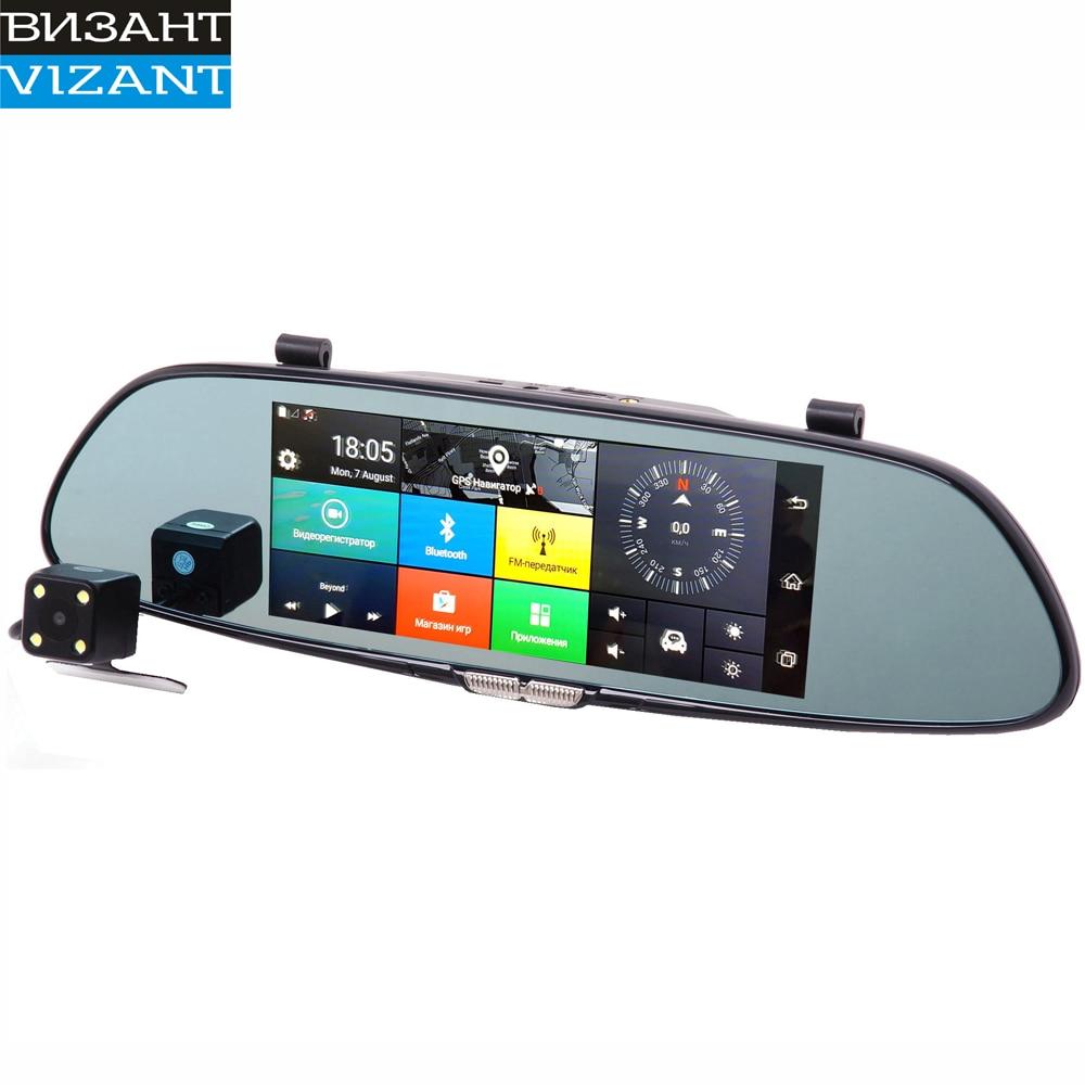 Многофункциональное зеркало Vizant-957 3G 1080P на базе андроид