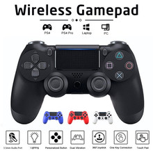 Sem fio/com fio joystick bluetooth gamepad para ps4 controlador de controle remoto para playstation 4 para mando ps3 controlador joystick