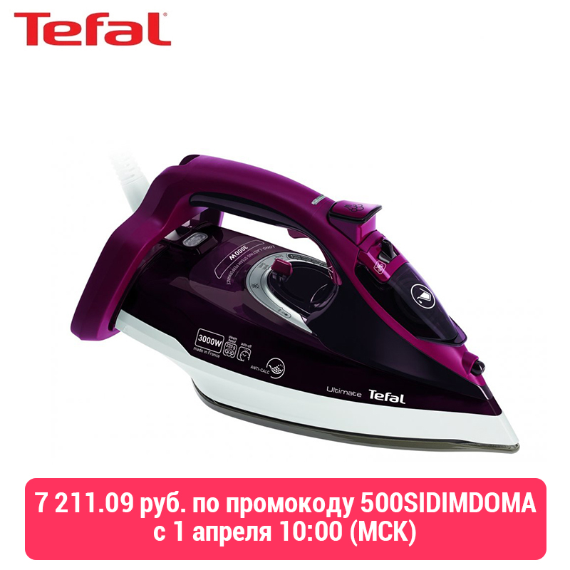 Iron Tefal Ultimate Anti-calc Fv9775