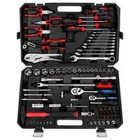 SATAGOOD Tools 86 pcs. Tool tool kit key set auto repair tool hand tool car tool tool kit for car auto tool tool sets head set