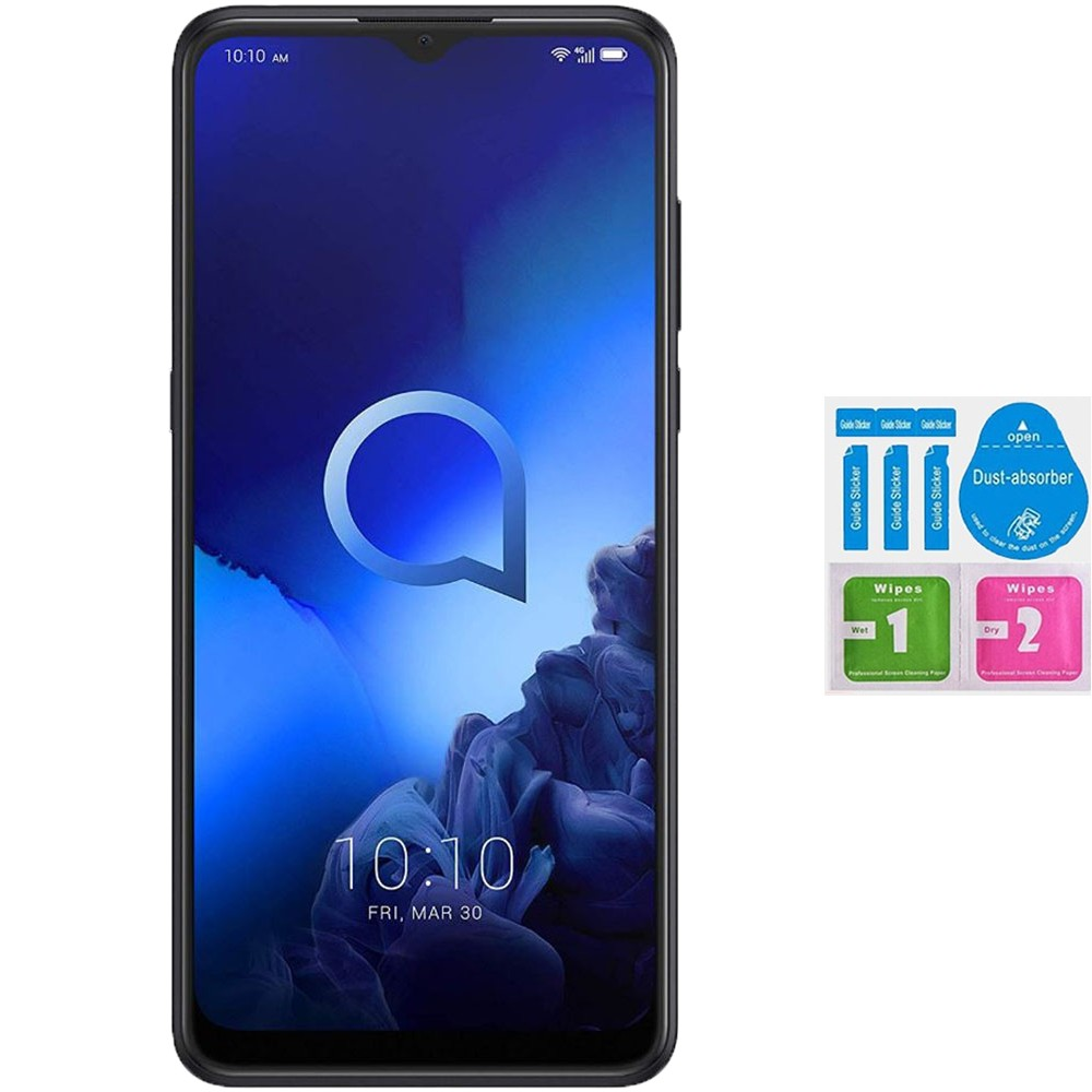 Tempered Glass Screen Protector For For ALCATEL 3X 2020 (Generico, Not Full See INFO) KIT