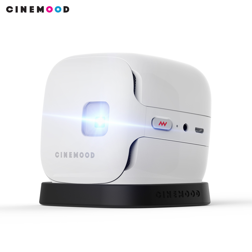 Cinemood LED Projector 600 Lumen 3.5mm Audio  Pixels HDMI USB Mini Projector Home Media Player Youtube