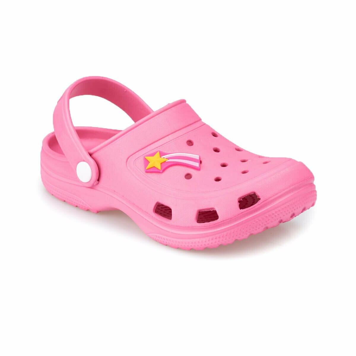 FLO FROG Pink Female Child Slippers KINETIX