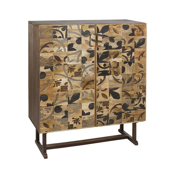 Sideboard Mango Wood (100 X 45 X 120 Cm)