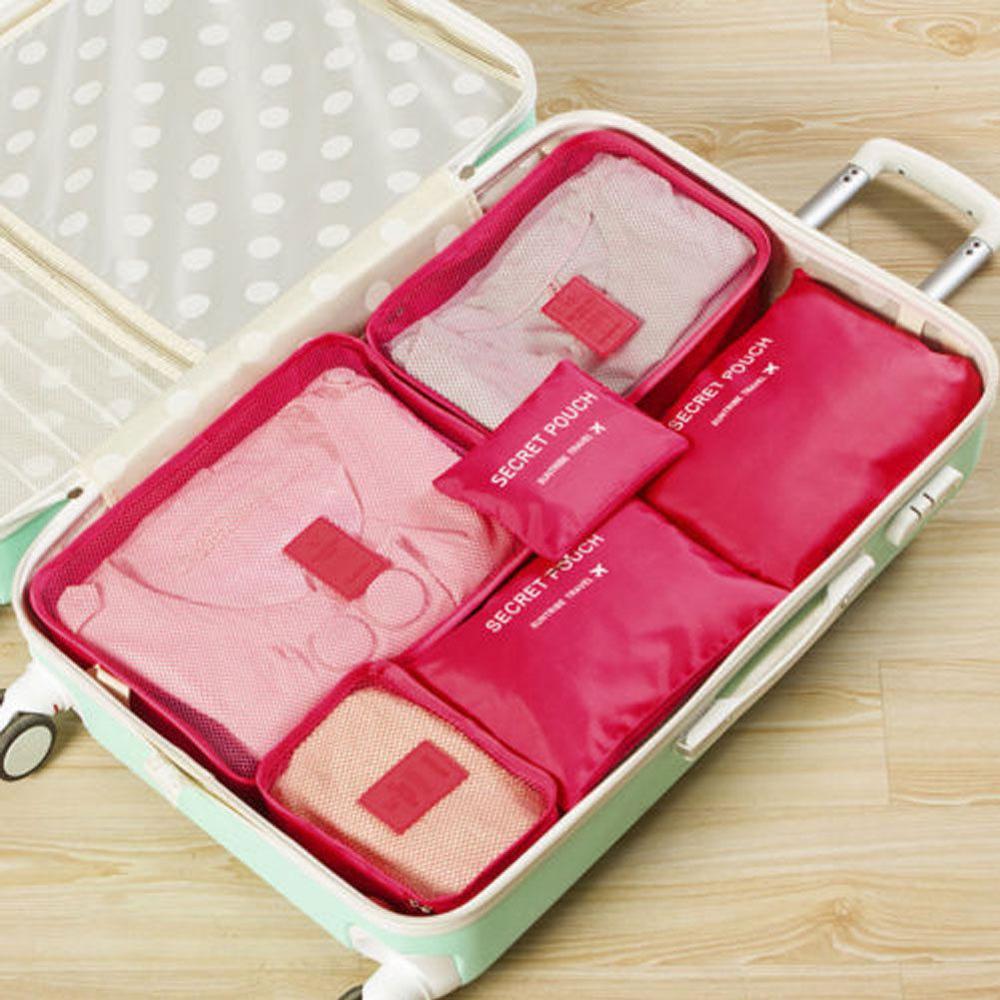 Местный запас 6 шт. водонепроницаемые дорожные сумки одежда чемодан Органайзер сумка Упаковка распродажа - Цвет: 5