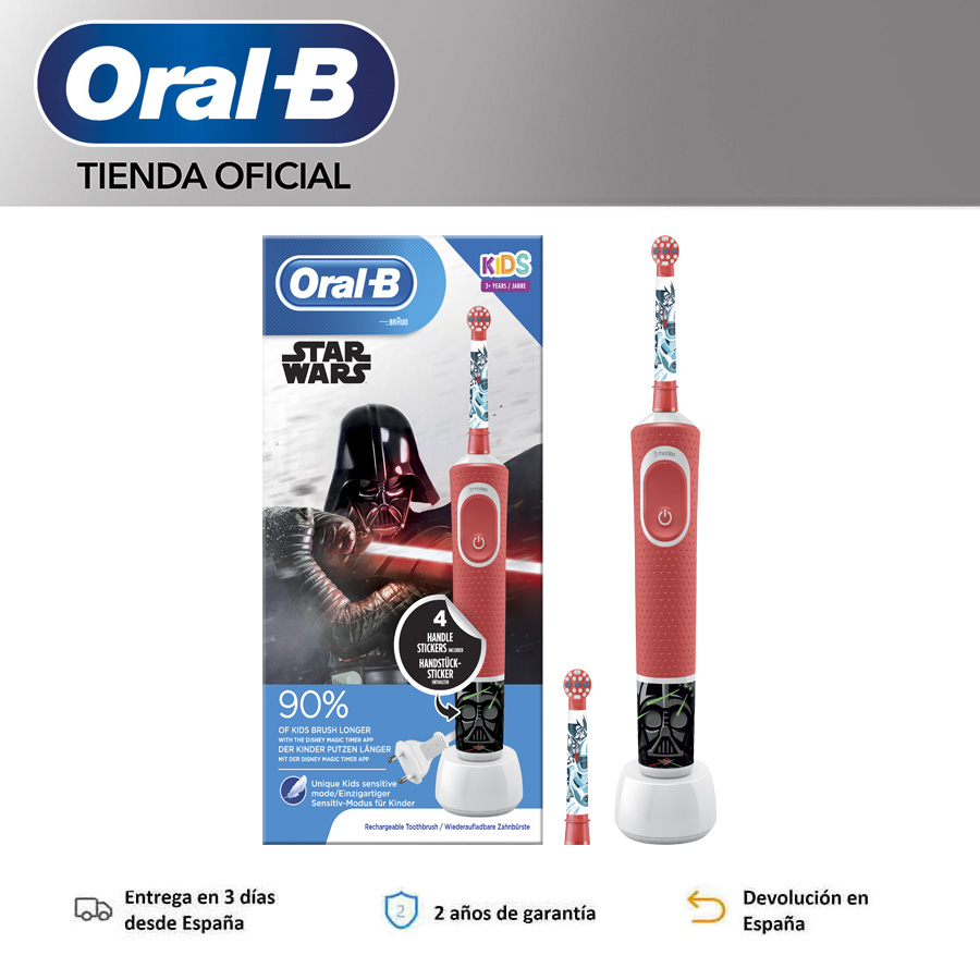 Oral B Vitality KIDS characters Star Wars Plus Box Toothbrush order child rechargeable electrics image