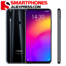Rom global meizu nota 9 lte câmera dupla do sim 48mp do telefone móvel 4 gb 64 gb snapdragon675 octapore 6.2
