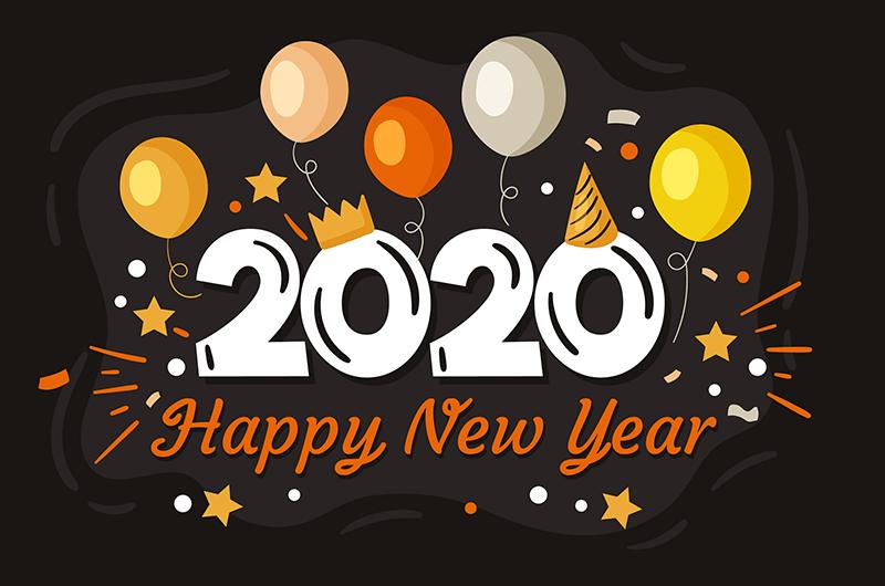 2020新年快乐祝福语简短