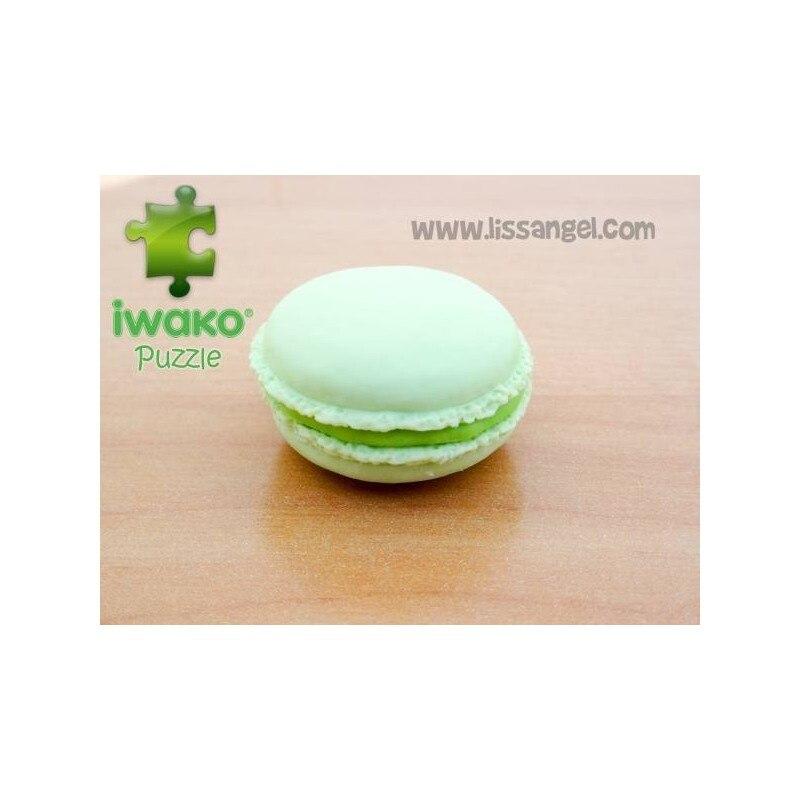 Puzzle IWAKO Eraser - Green Macaron