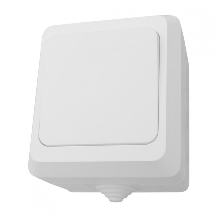 Switch Simple Surface Watertight Outdoor 7hSevenOn Elec
