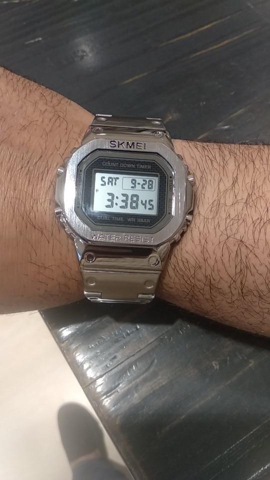 -- Digital Esporte Relógio