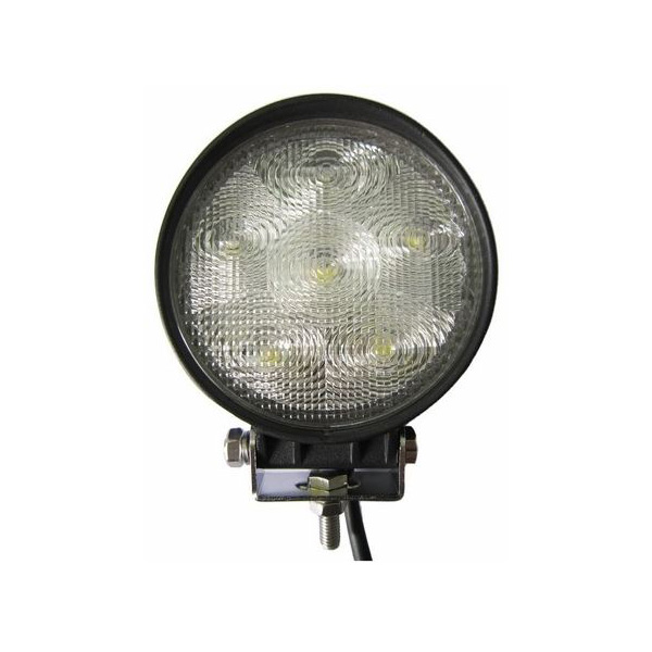 Focus <font><b>LED</b></font> Round used tractor, Boats, Industrial machinery 12 and <font><b>24</b></font> <font><b>Volt</b></font> 18 W image