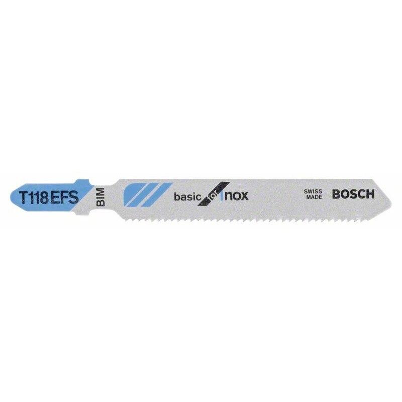 BOSCH-jig-saw T 118 EFS Basic For Inox