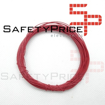 11 metros AWG30 ROJO Cable WRAPPING WIRE COLOR ROJO electronica