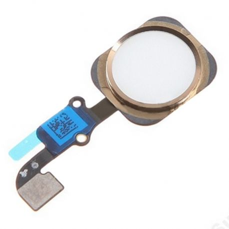 Home Button Flex For Apple IPhone 6 & 6 Plus | Color Gold