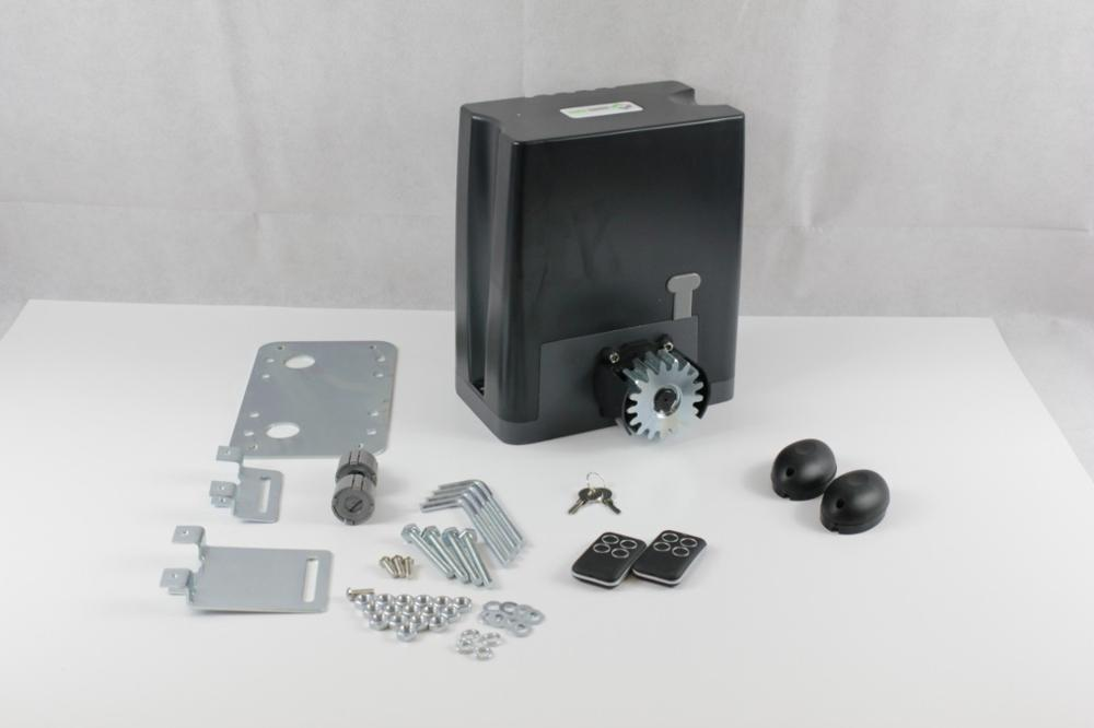 Sliding Gate Drive Kit DKC500ACP With Mounting Plate And Photocells