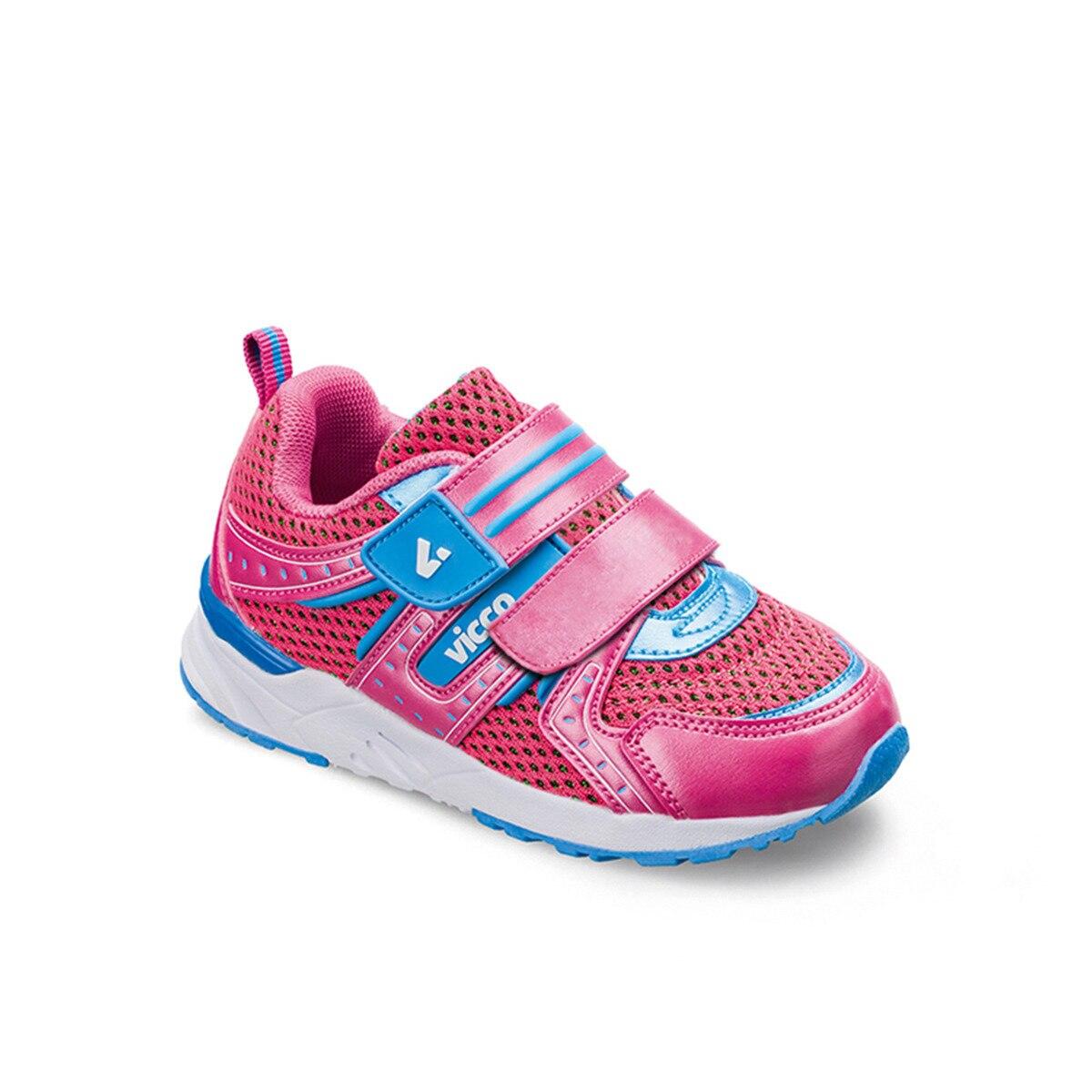Anne ve Çocuk'ten Tenis Ayakk.'de FLO 346.Z.101 BEBE SPOR AYAKK Fuşya Kız Çocuk Sneaker Ayakkabı VICCO title=