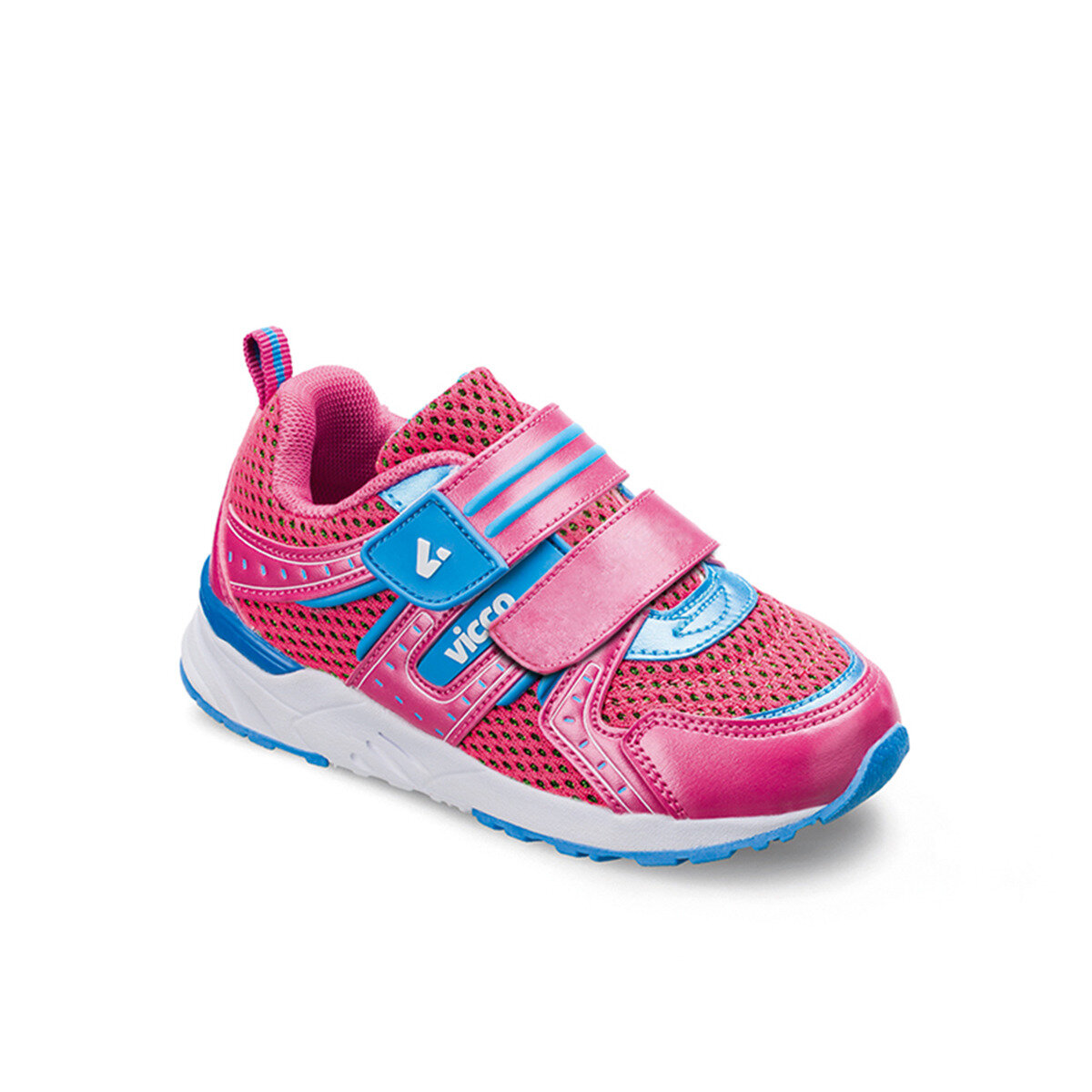 FLO 346. Z.101 BEBE SPORT FOOT Fuchsia Female Child Sneaker Shoes VICCO