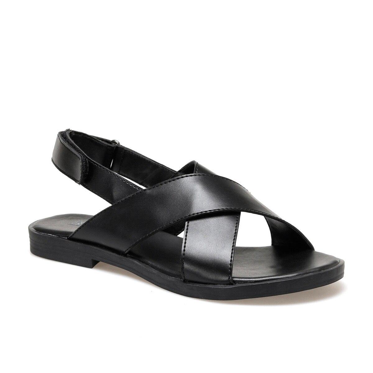 FLO 20S-626 Black Women Sandals BUTIGO