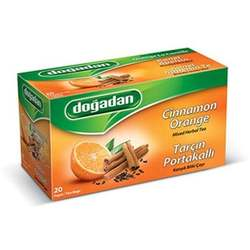 Dogadan - Cinnamon Orange Fruit Tea, 20 Tea Bags