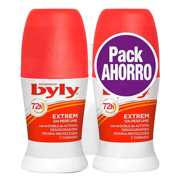Roll-On Deodorant Extrem Byly (2 Uds)