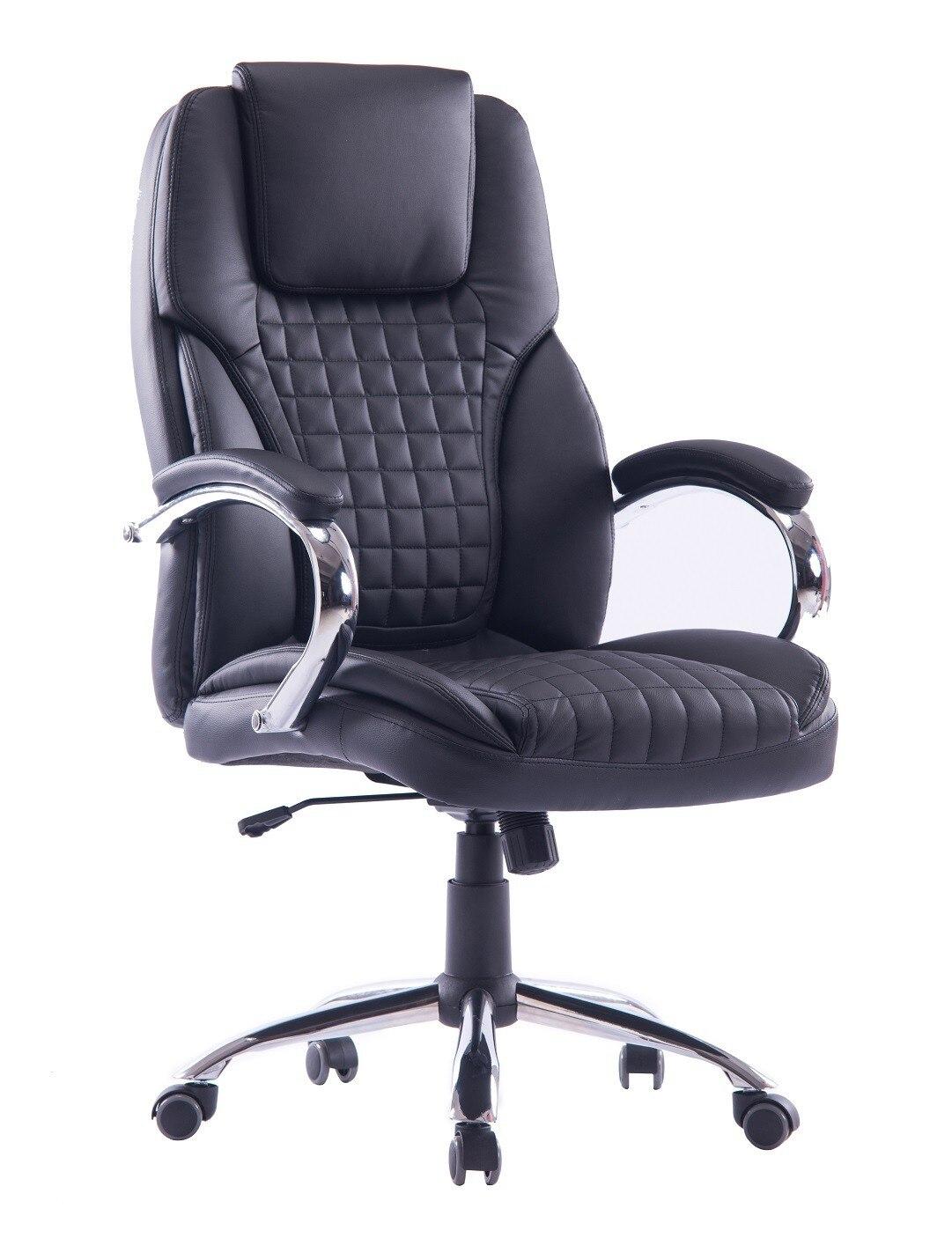Office Armchair HAMBURG, High, Gas, Tilt, Similpiel Black