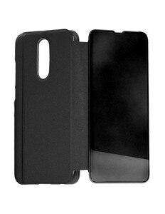 Черный зеркальный Чехол-книжка для Xiaomi Redmi 8