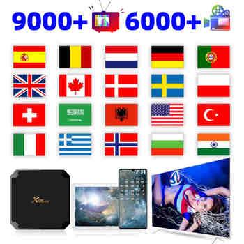 6500 + abonnement hd inde arabe états-unis Canada italie amérique Code Pandar Premium Subs compte livraison rapide M3U 24 heures