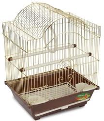 Клетка Triol 2113G золото для птиц, 300х230х390 мм