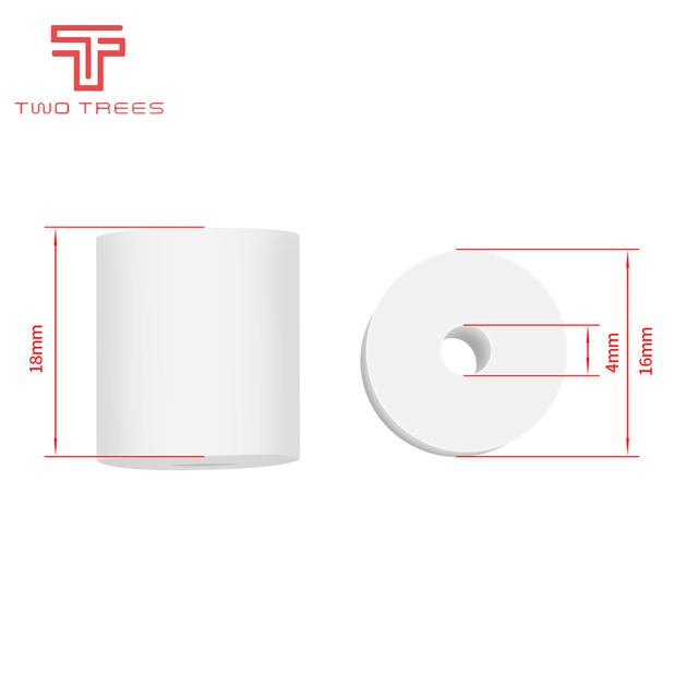 High Temperature Silicone Solid Spacer Hot Bed Leveling Column  For CR-10 CR10S Ender-3 PRO Prusa I3  3D Printer Parts 6