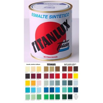 Synthetic enamel shine TITANLUX red CARR 125ML 001056019