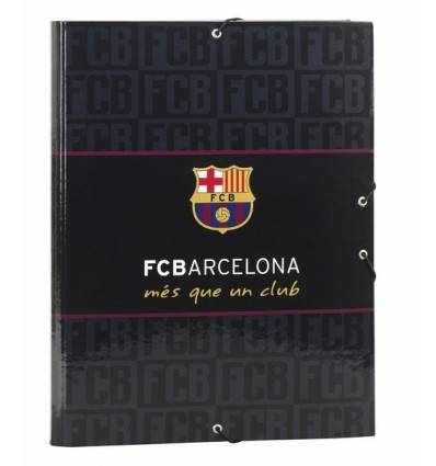 FOLDER FOLIO 3 LAPELS FCBARCELONA BL