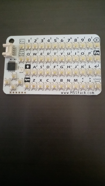 M5Stack Official CardKB Mini Keyboard Unit MEGA328P GROVE I2C USB ISP Programmer for ESP32 Arduino Development Board STEM Python reviews №3 144374