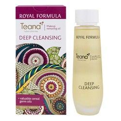 Teana maquillaje removedor de aceite Limpieza Profunda, elimina suavemente cualquier grasa soluble y maquillaje para mostrar una piel perfectamente limpia y suave, ofrece vitaminas a la piel, suaviza y rejuvenece, 100ml