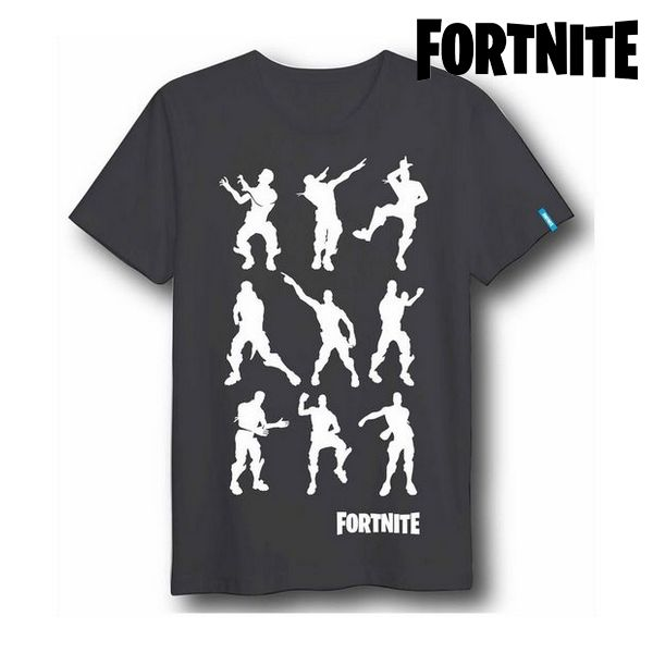 Unisex Short Sleeve T-Shirt Fortnite 75061 Black