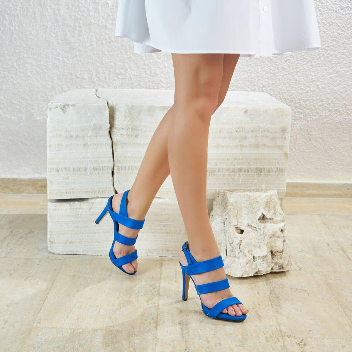 FLO BELLİNİ73Z Saks Women Sandals BUTIGO