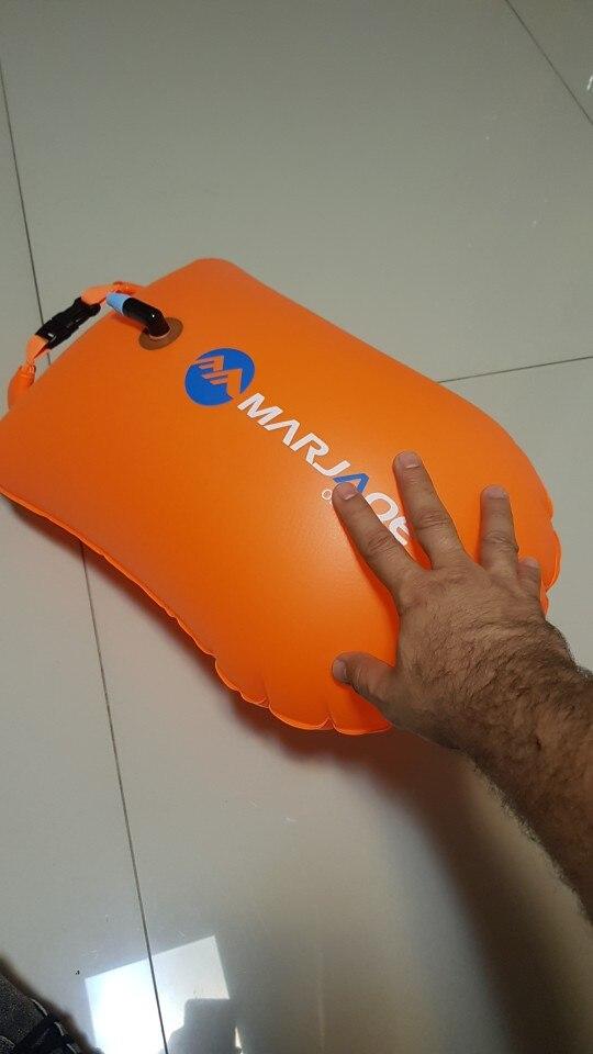 Boia de salvação flutuador natação inflável