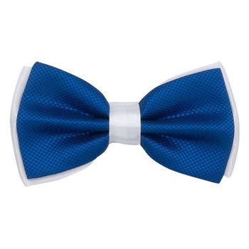 Bow tie for men (blue, microfiber) 56020